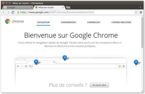 Navigateur Chromium - Ubuntu facile